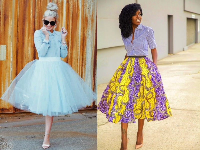Full Midi Skirt – BLULOFT