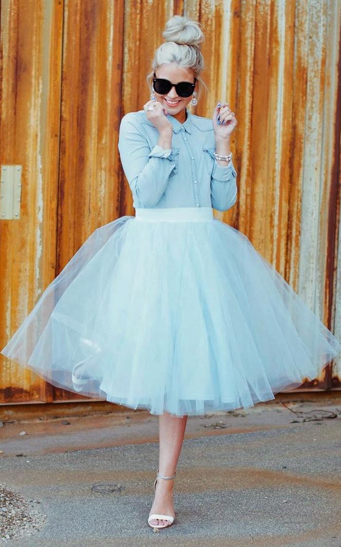Cara-Loren-Windsor-Blue-White-Tulle-Midi-Skirt