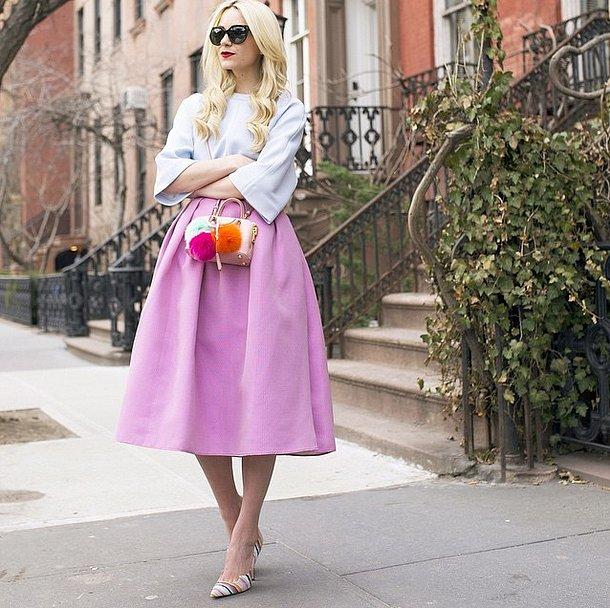 How-Wear-Midi-Skirt