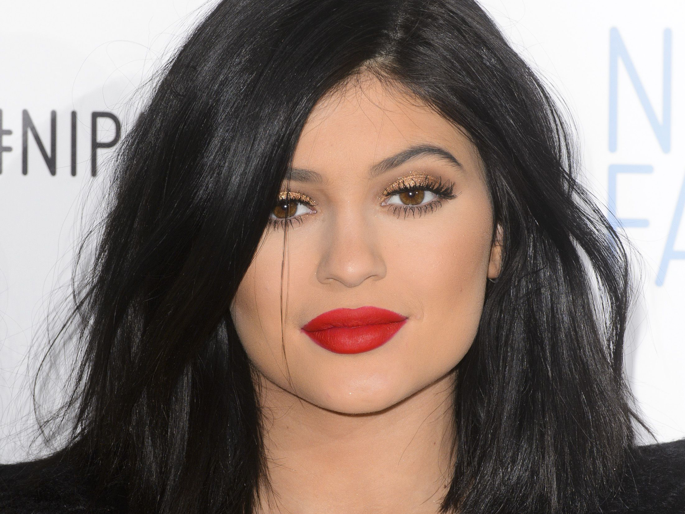 Mandatory Credit: Photo by Jonathan Hordle/REX (4528067l) Kylie Jenner Kylie Jenner announced as new Global ambassador for Nip FAB, London, Britain - 14 Mar 2015