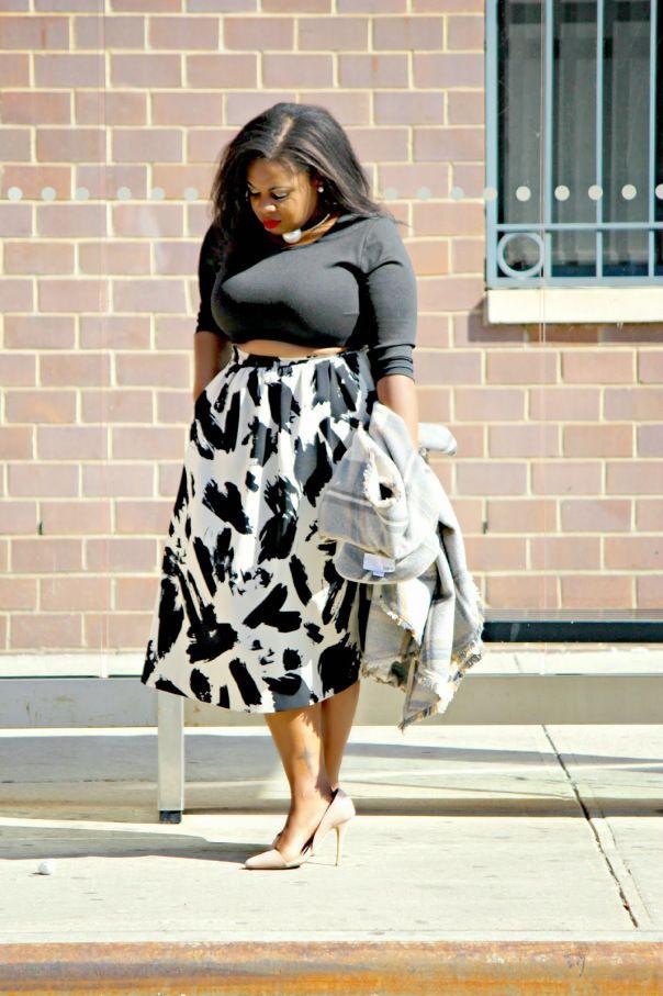 Full Midi Skirt Bluloft