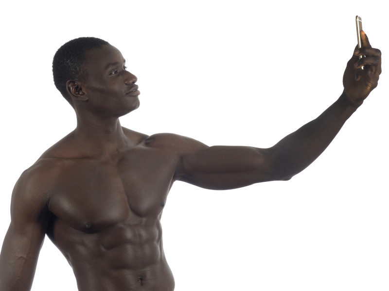 selfie man naked